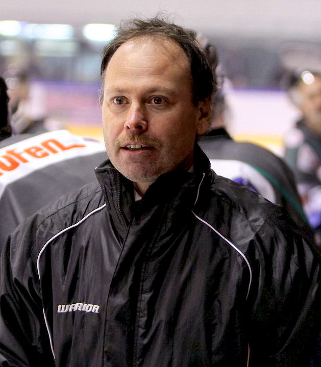 Eishockey-Teammanager Sascha Woepke